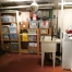 A basement, professionally organized and decluttered