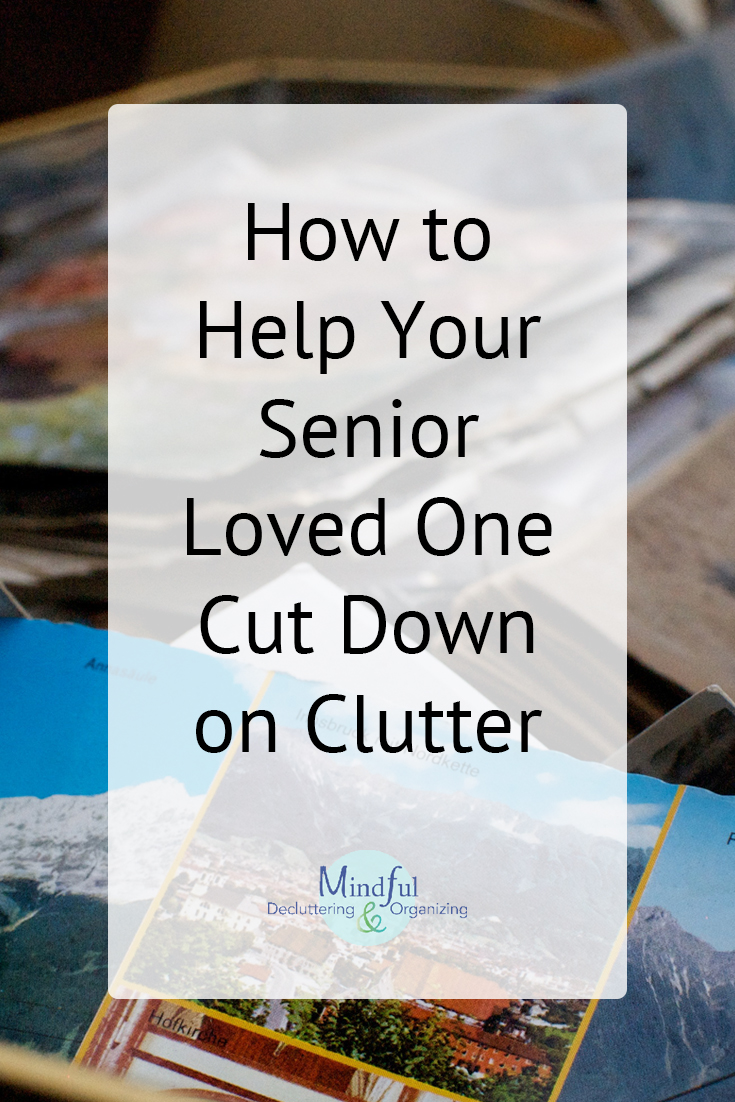 how to help your senior loved one cut down on clutter