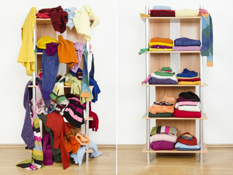 Declutter A Closet: Three Clever Ways To Transform Your Closet